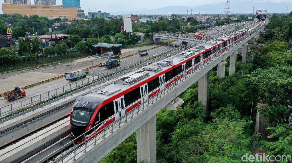 Mantap! LRT Jabodebek Siap Beroperasi Tahun Depan