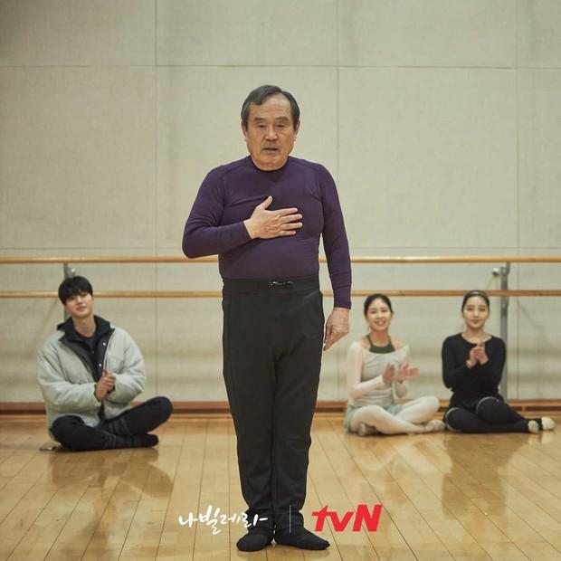 Sim Deok-chul tampil untuk pertama kalinya di depan umum