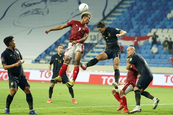 Timnas Indonesia bertanding di Grup G Kualifikasi Piala Dunia 2022 zona Asia di Dubai, Uni Emirat Arab.