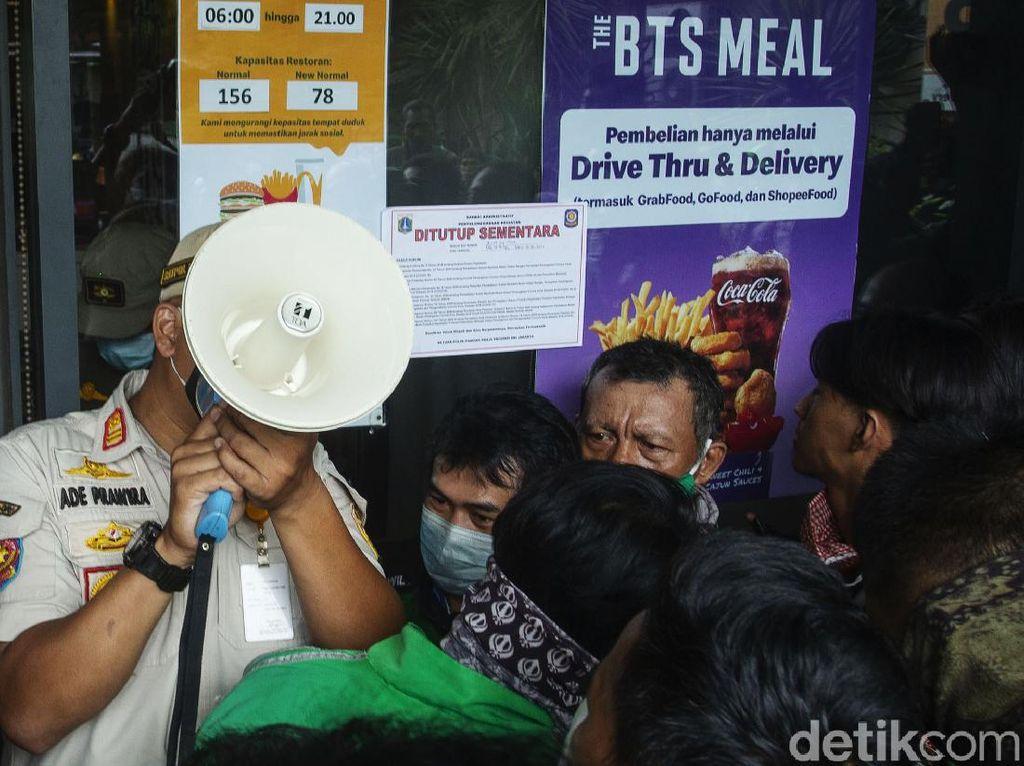 32 Gerai McD di Jakarta Kena Sanksi Imbas Kerumunan BTS Meal