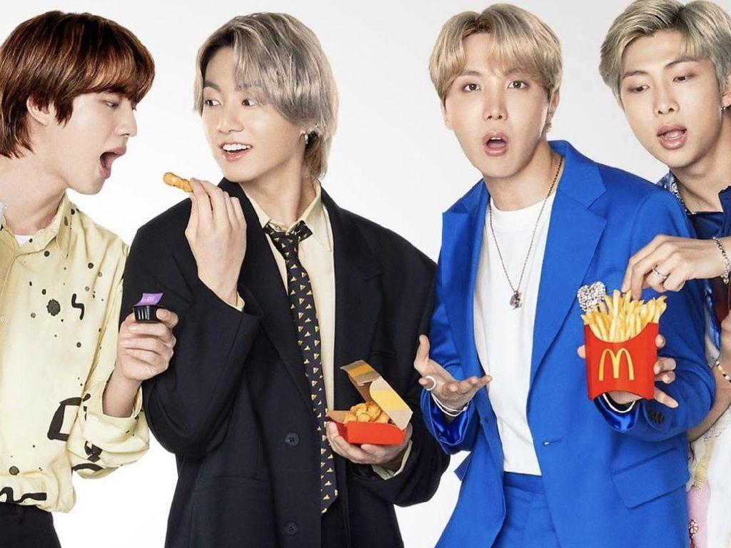 Fantastis! BTS Dapat Rp 127 Miliar dari Kolaborasi McD BTS Meal