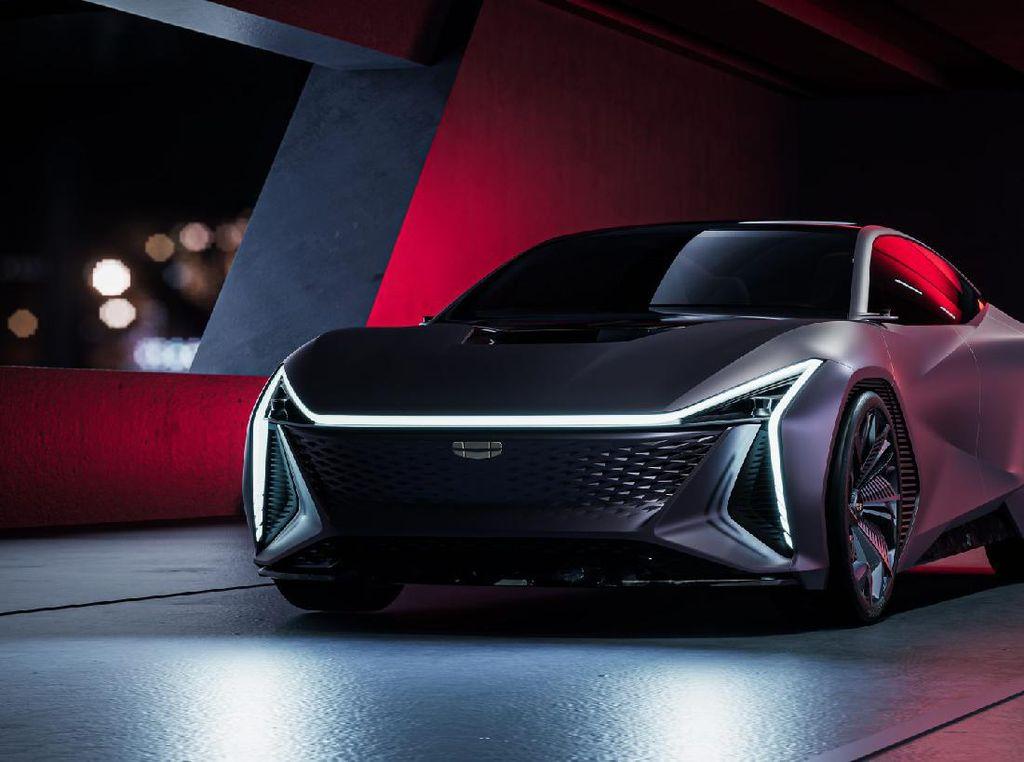 Futuristis! Ini Tampang Mobil Konsep Terbaru Geely
