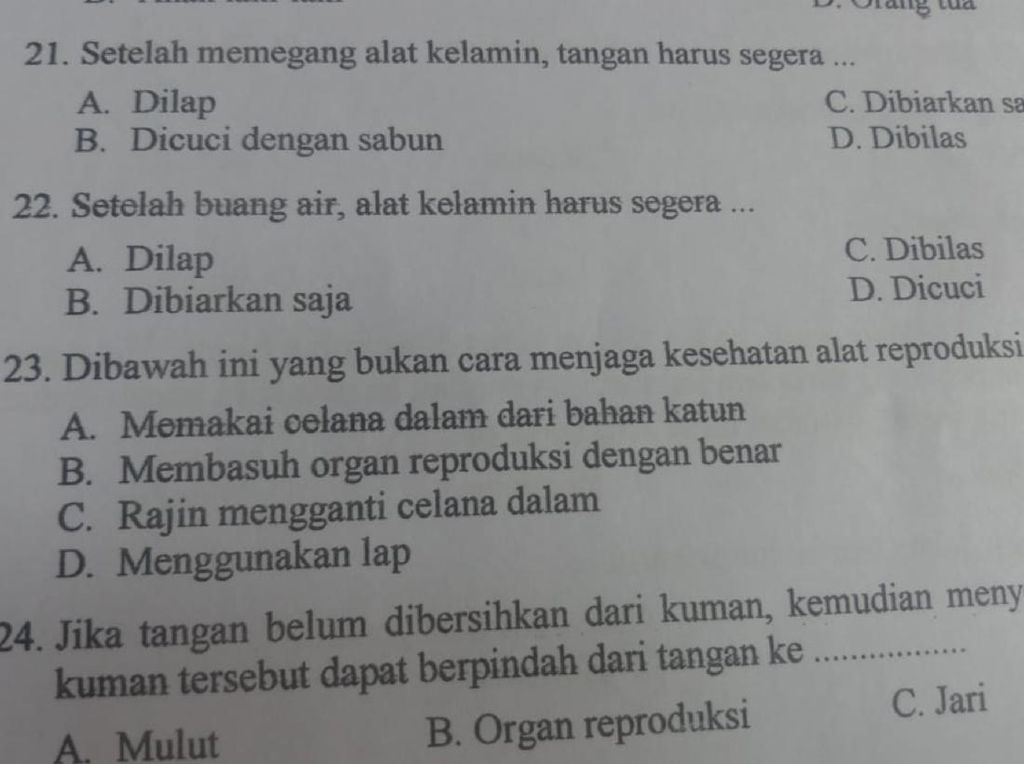Soal Ujian SD Bahas Ganja-Alat Kelamin, Disdikbud Akan Kumpulkan Guru PJOK
