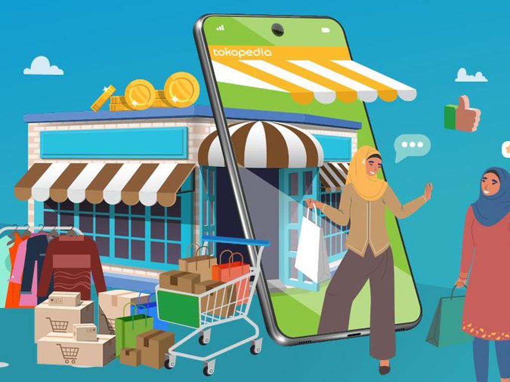 Sengit! Rivalitas Tokopedia vs Shopee di Industri e-Commerce RI