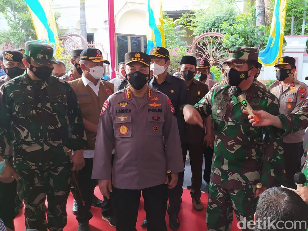 Dawuh Panglima TNI dan Kapolri untuk Penanganan Kasus COVID-19 Lamongan