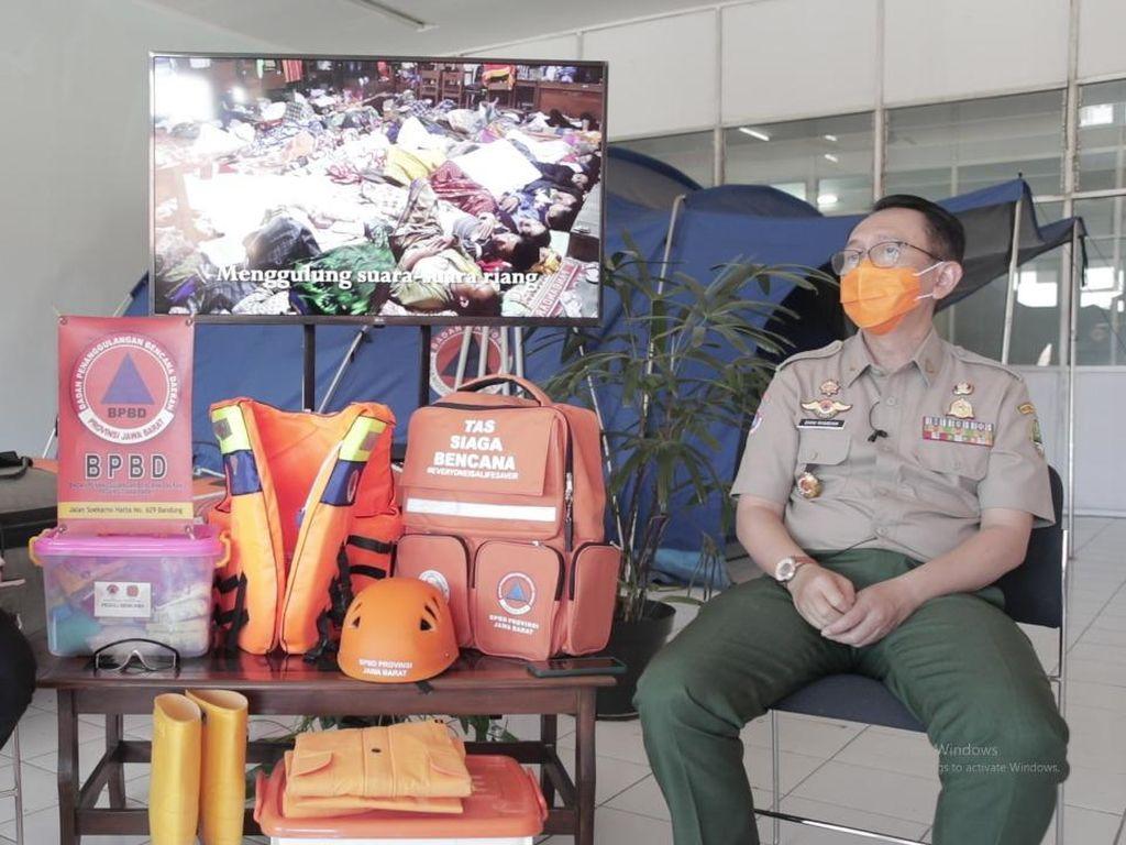 BPBD Jabar Ajak Warga Kenali Potensi Bencana Lewat Peta Rawan Bencana