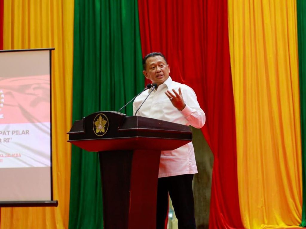 Pentingnya PPHN, Bamsoet Contohkan Kemajuan Singapura