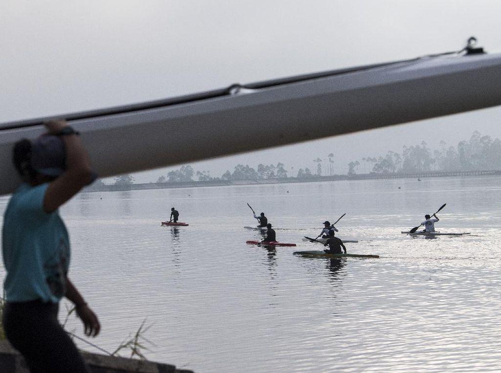 Semangat Para Atlet Dayung RI Jelang Olimpiade Tokyo