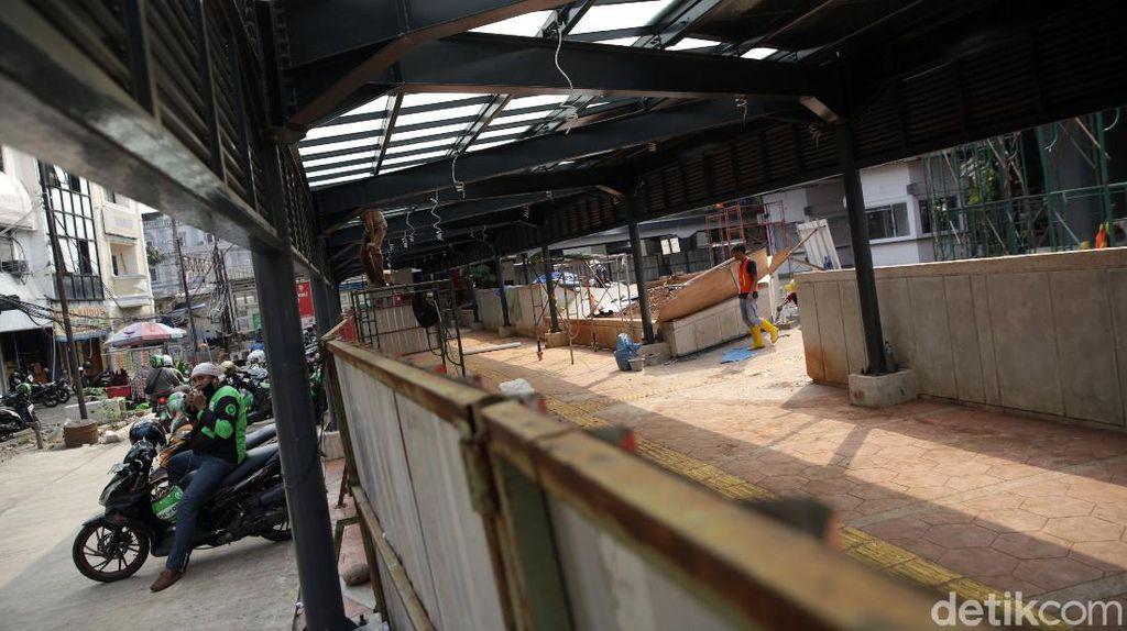 Menengok Progres Penataan Kawasan Stasiun Tebet