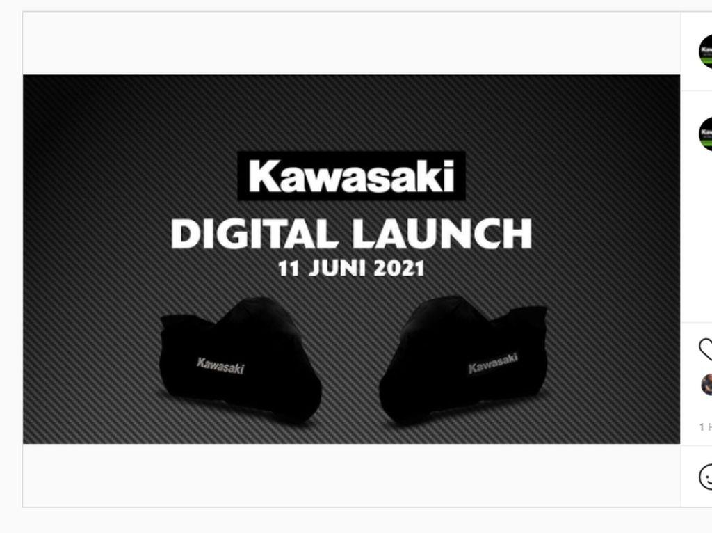Kawasaki Luncurkan Motor Baru di Indonesia Besok, Ini Bocorannya