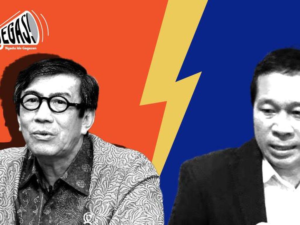 PD Ngegas ke Yasonna Gegara Bos Benny Harman Masih Lama Jadi Presiden