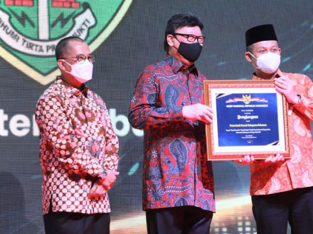 Pemkab Kebumen Sabet Juara 1 Kearsipan Tingkat Nasional