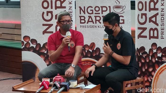 Presiden Klub Persija Jakarta, Mohamad Prapanca, mengungkap durasi kontrak pelatih baru, Angelo Alessio.