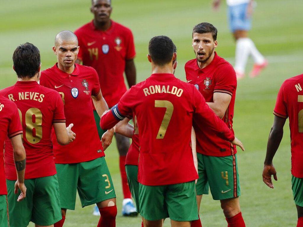 Uji Coba Portugal Vs Israel: Selecao Das Quinas Menang 4-0