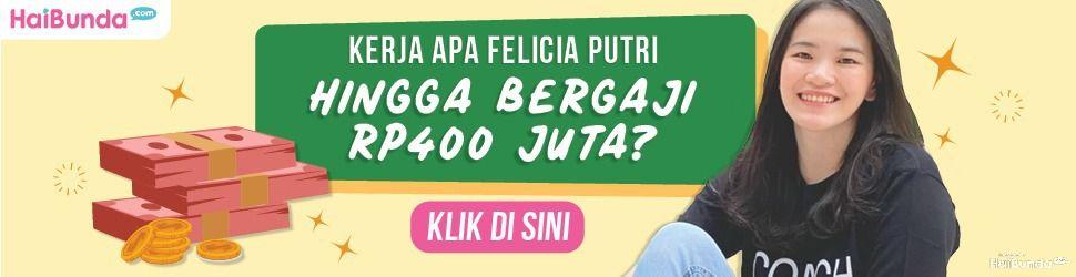 Banner Felicia Putri Gaji Rp400 Juta