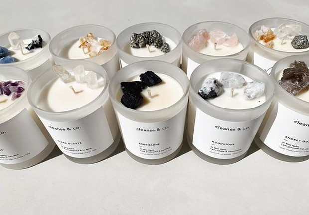 candle aromatherapy (sumber : pinterest.com/cleanseandco.com.au)