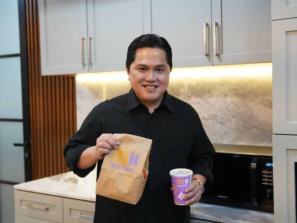 Erick Thohir Belikan BTS Meal untuk Sang Anak yang Ternyata ARMY!