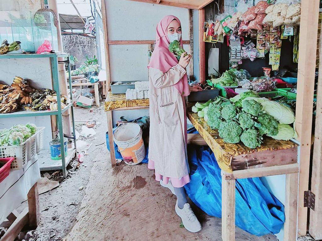 Ghaida, Putri Aa Gym dan Teh Ninih yang Hobi Belanja Buah dan Sayur Segar