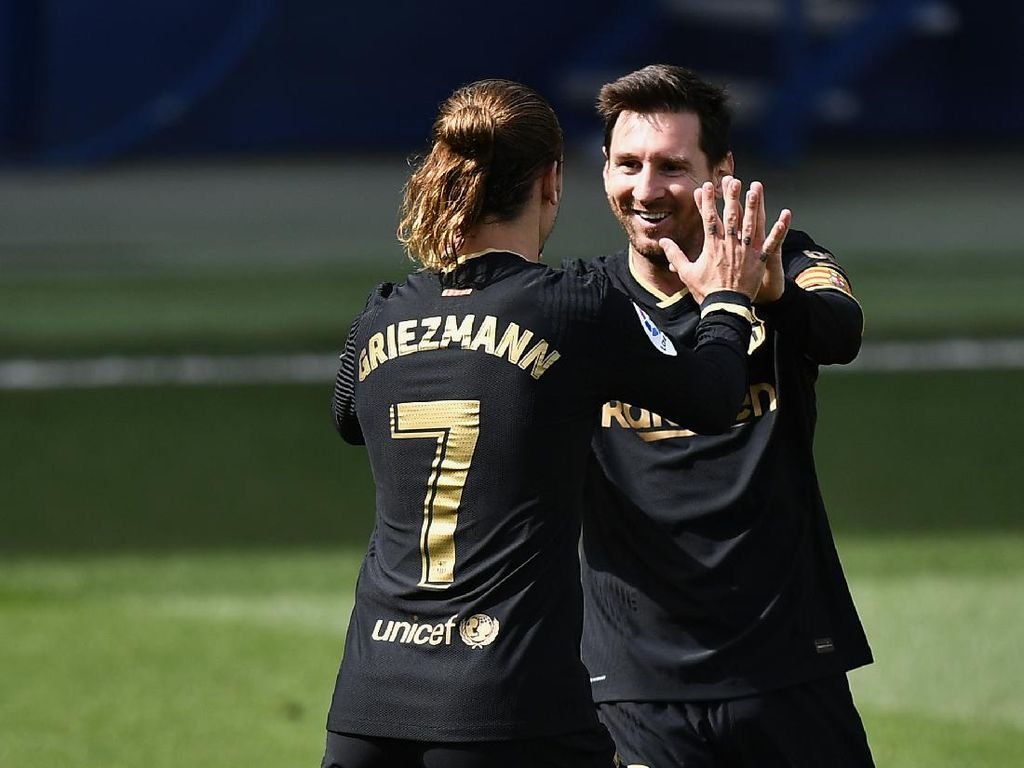 Griezmann: Messi Bisa Ubah Melon Jadi Kaviar!