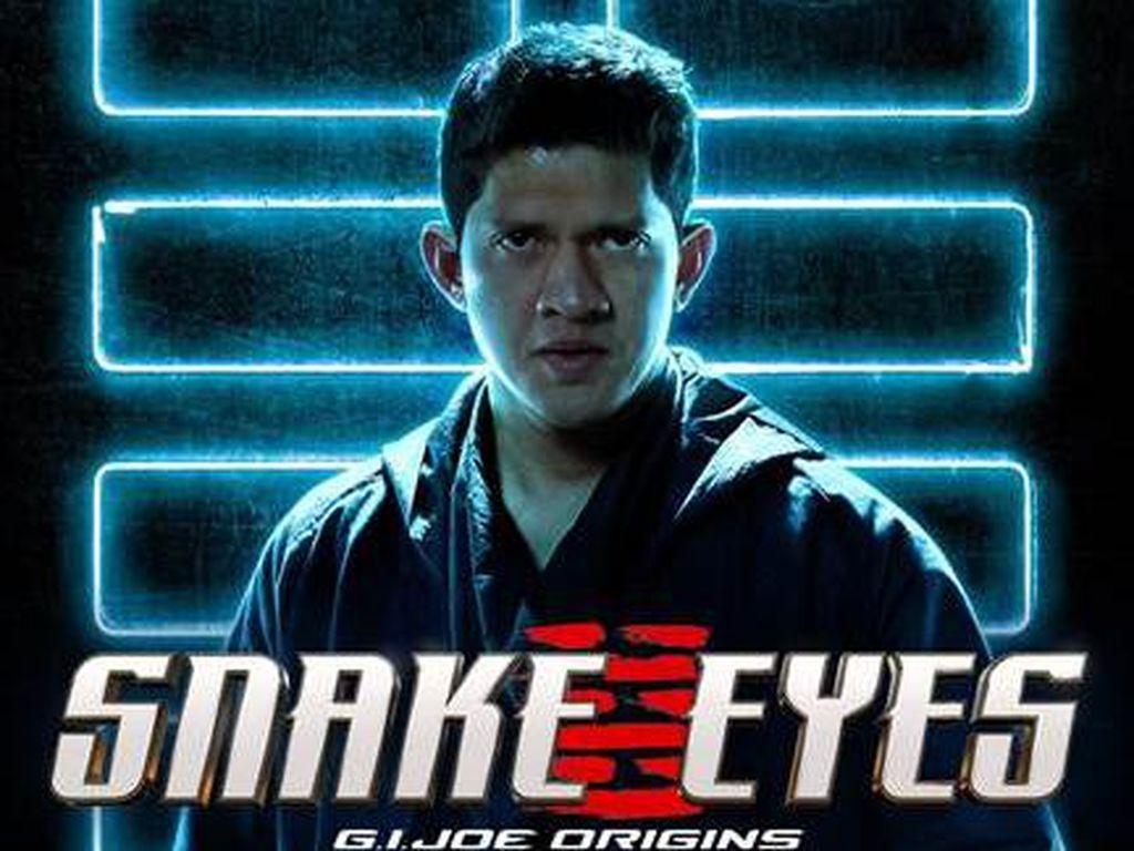 Mengintip Penampilan Iko Uwais di Film Hollywood Snake Eyes