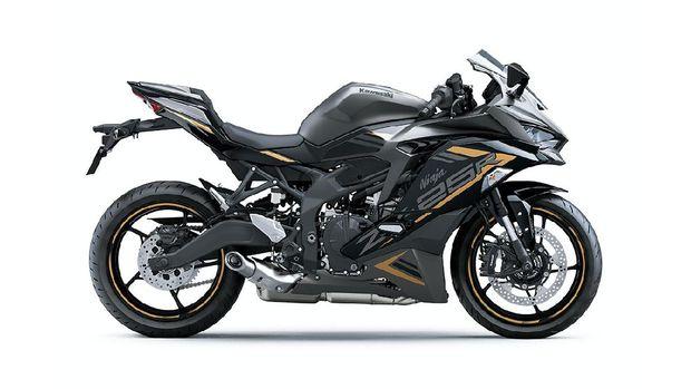 Desain warna baru Kawasaki Ninja ZX-25R meluncur di Indonesia pada 11 Juni 2020.