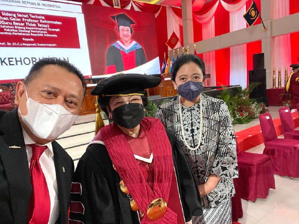 Temui Megawati, Ketua MPR Dapat Masukan Soal Haluan Negara