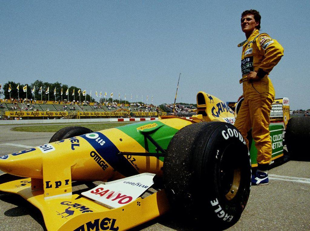 Mobil F1 Pertama Michael Schumacher Dijual Rp 25 M