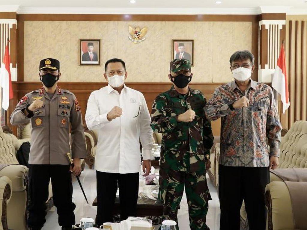 Bamsoet Dorong Forkopimda Masifkan Vaksinasi COVID-19 di Aceh
