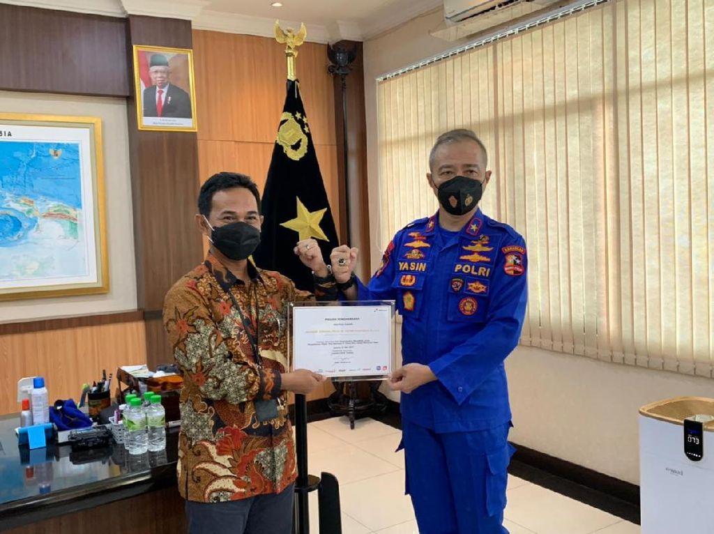 Pertamina Beri Penghargaan ke Polair Polri Tangkap Pencuri BBM di Tuban