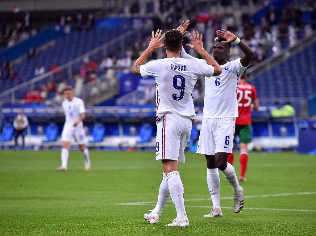 Jawaban Menggelitik Pogba soal Isu Perselisihan Giroud-Mbappe