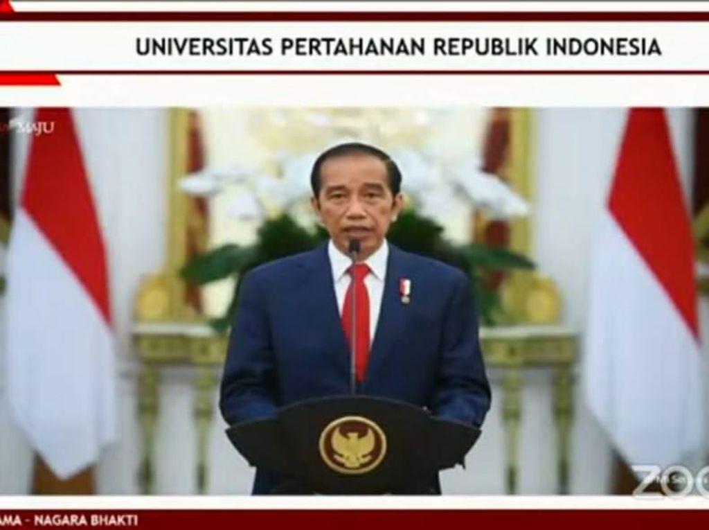 Megawati Dapat Profesor Kehormatan, Jokowi Puji Perjuangkan Wong Cilik