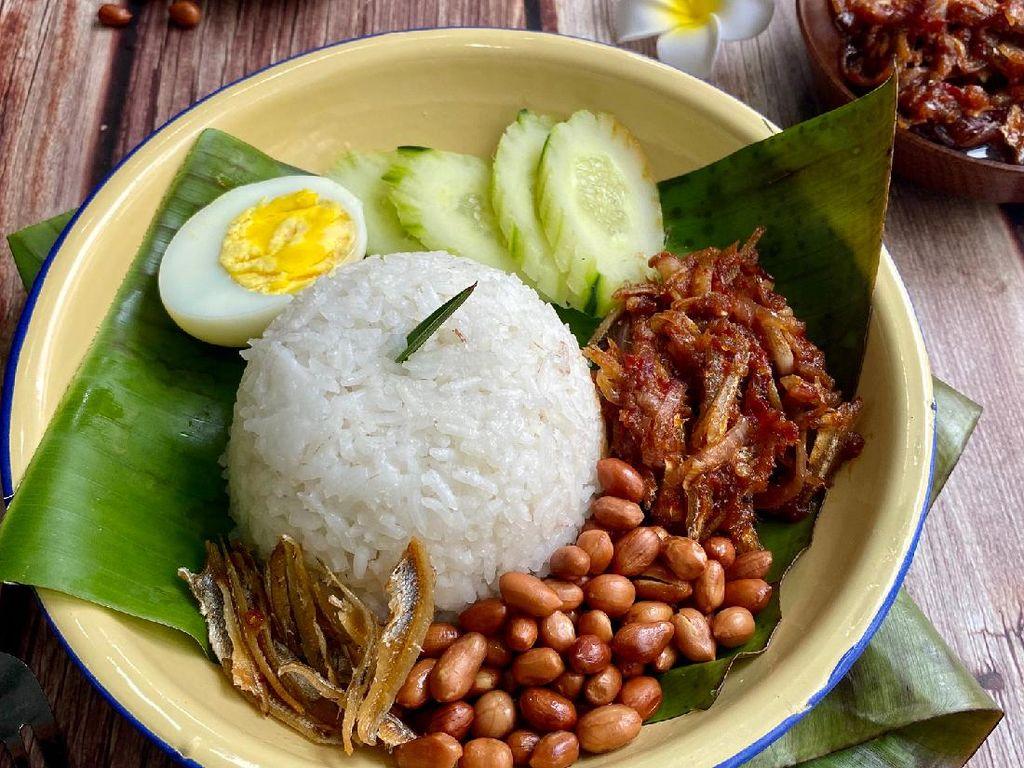 Resep Nasi Lemak Malaysia yang Sederhana Nikmat Rasanya