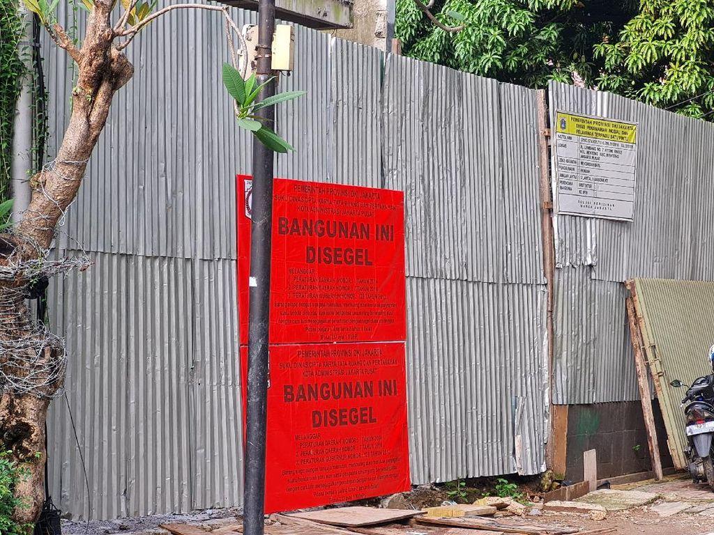 Penampakan Rumah Mewah di Jl Lembang Menteng Disegel Gegara Langgar Aturan