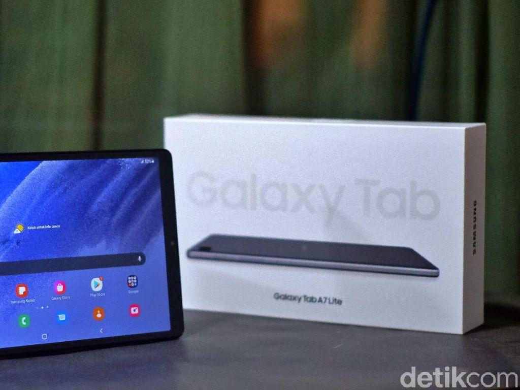 Review Samsung Galaxy Tab A7 Lite, Murah dan Menyenangkan