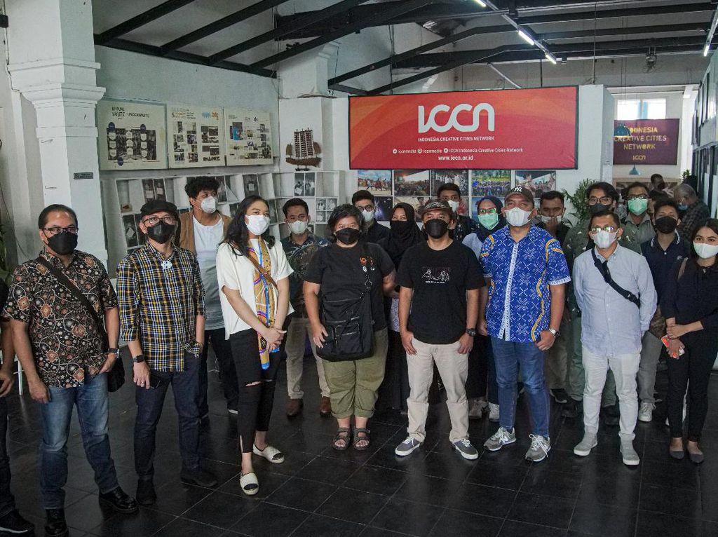 Kunjungi Bandung, Putri Tanjung Ingin Serap Energi Kreatif