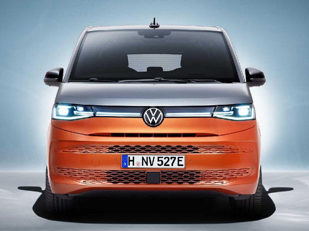 VW Multivan T7 Hybrid Sajikan Ruang Rapat Berjalan