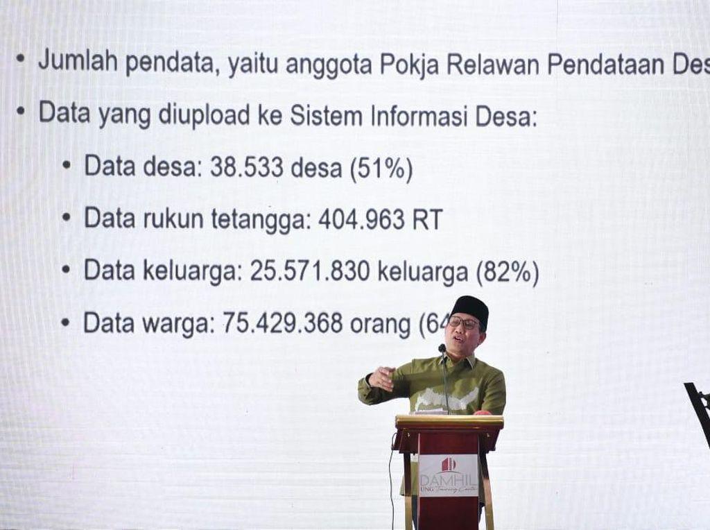 Mendes Dorong Tuntaskan Pemutakhiran Data agar Dana Desa Tepat Sasaran