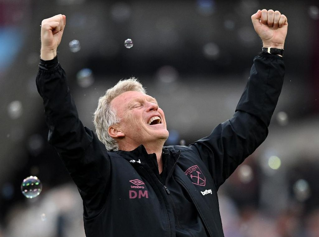 David Moyes Perpanjang Kontrak di West Ham hingga 2024