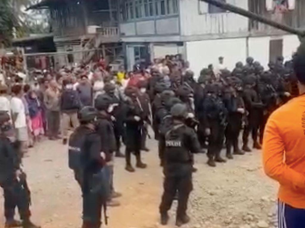 Kampung Narkoba di Sumsel Digerebek, Puluhan Pemadat-Preman Diciduk!