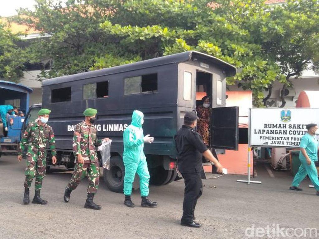 Limpahan dari Bangkalan, Pasien COVID-19 RSLI Surabaya Tembus 324 Orang