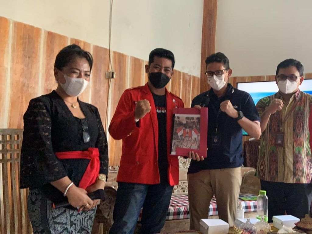 Temui Sandiaga di Bali, GMNI Minta Border Wisman Dibuka Juli Ini
