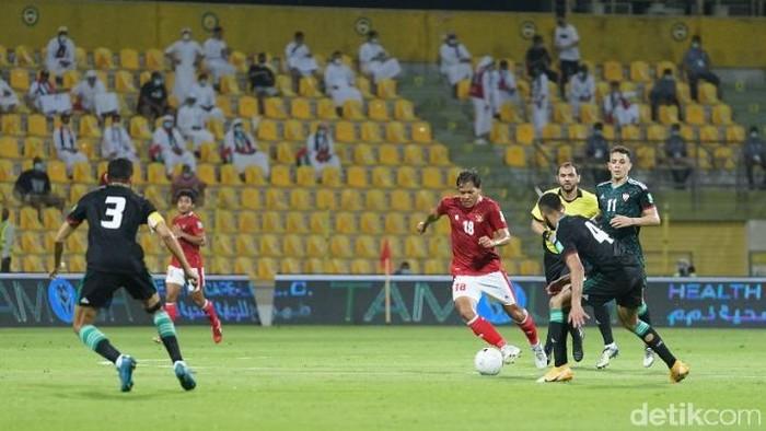 Timnas Indonesia dihajar Uni Emirat Arab 0-5 di Kualifikasi Piala Dunia 2022.