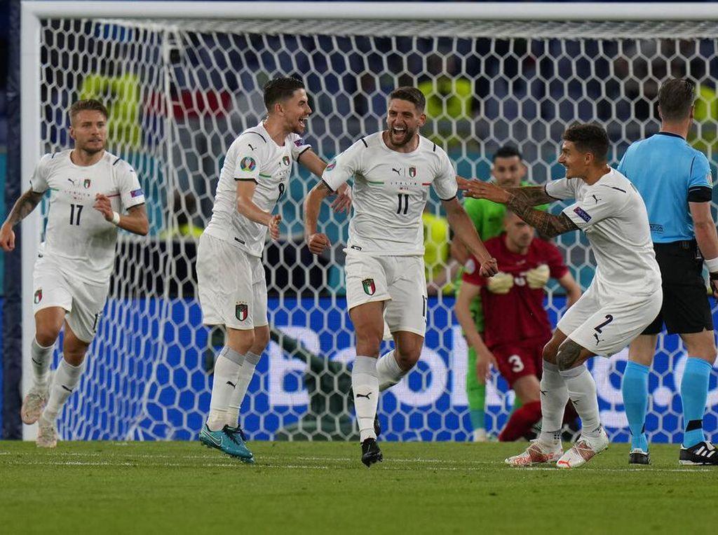 Turki Vs Italia: Dominan, Gli Azzurri Menang Tiga Gol Tanpa Balas