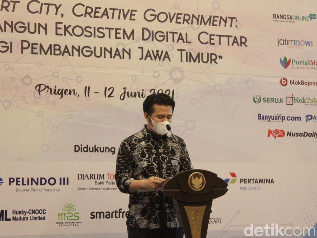 Wagub Emil Sebut Peran Penting Media Siber Wujudkan Smart City