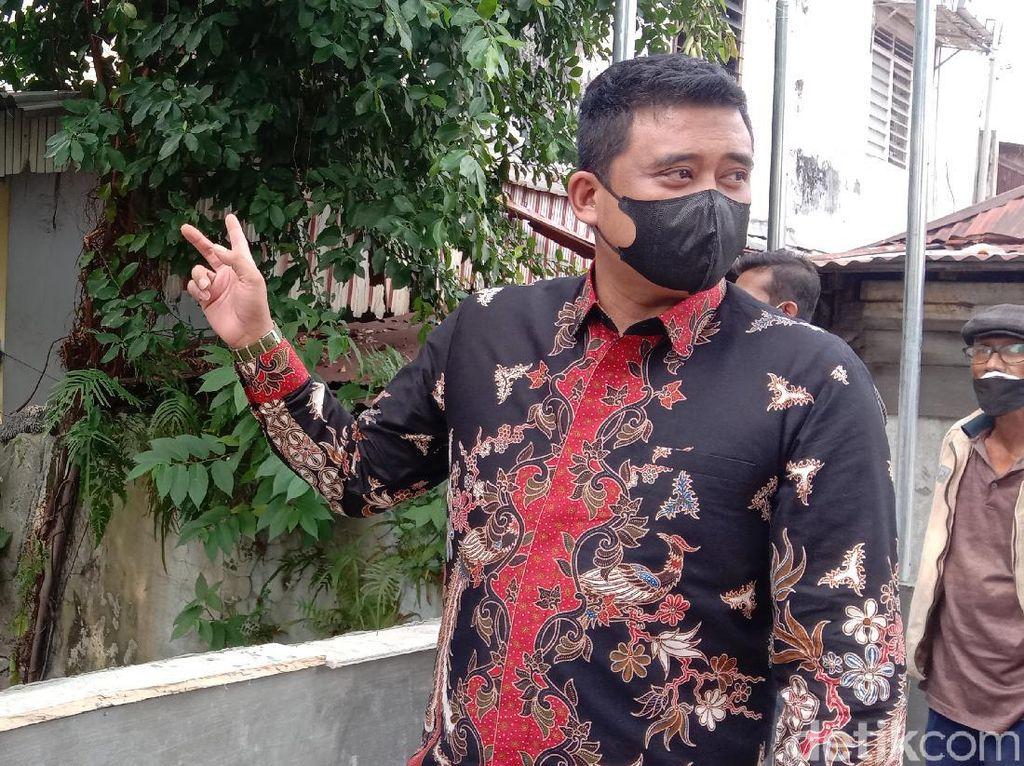 Bobby Klaim Medan Zona Oranye Corona: BOR RS 41%, Kesembuhan 90%