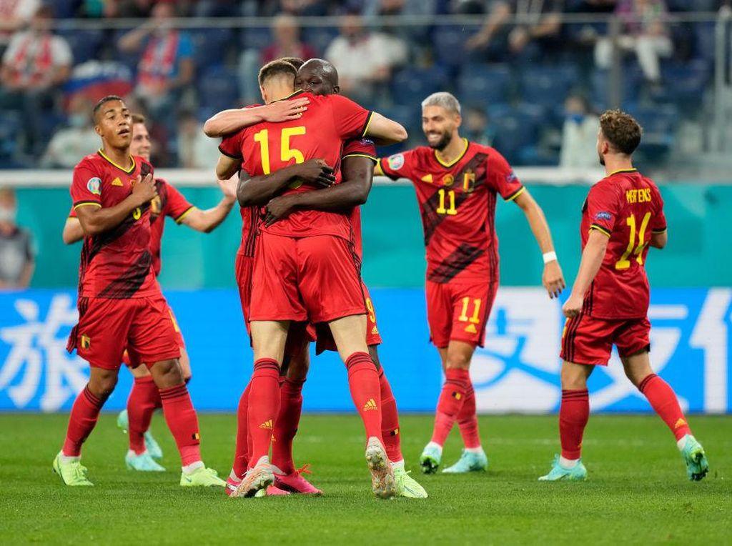 Langkah Mulus Belgia Awali Piala Eropa 2020