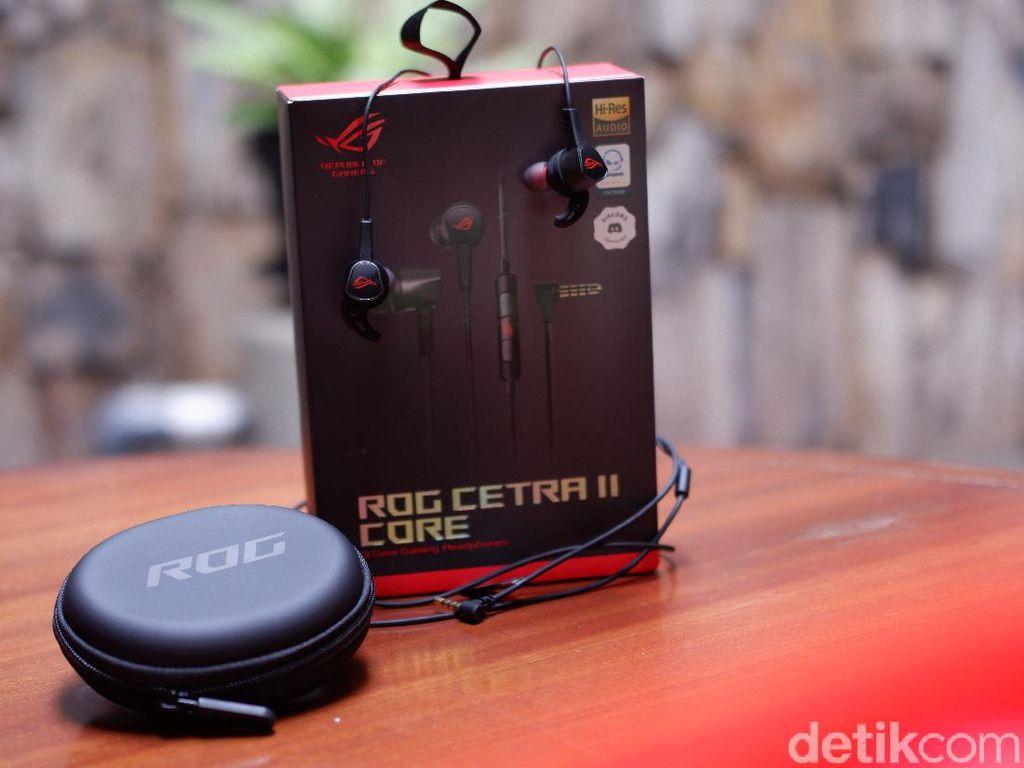 Review Asus ROG Cetra II Core Manjakan Telinga Gamer