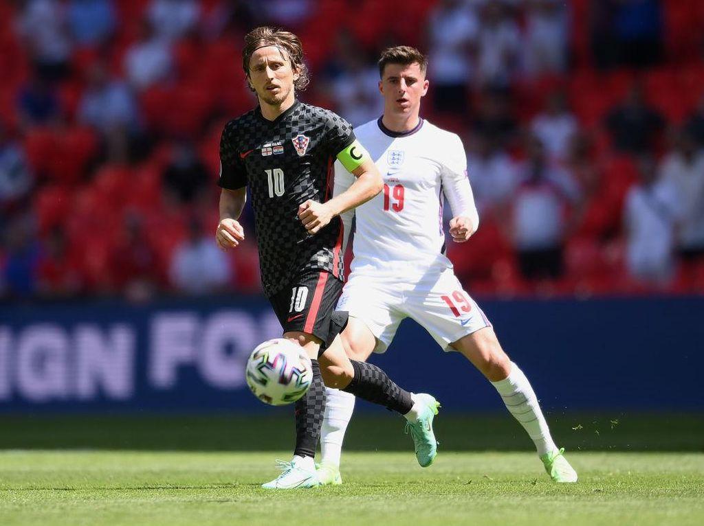 Piala Eropa 2020: Inggris Vs Kroasia Imbang Tanpa Gol di Babak Pertama