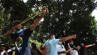 Wow! Ada Lomba Olahraga Tradisional Ketapel di Jakarta