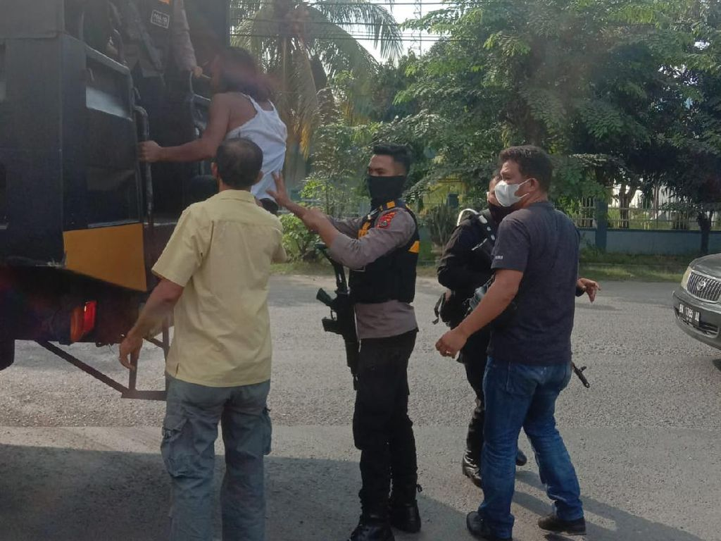 Kerap Resahkan Warga, 210 Preman di Sumut Ditangkap Polisi